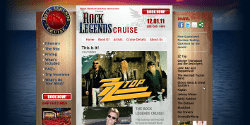 Rock Legends Cruise Launches