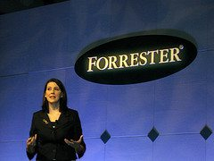 Forrester's Christine Overby at Forrester Mark...