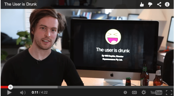 The User is Drunk – YouTube