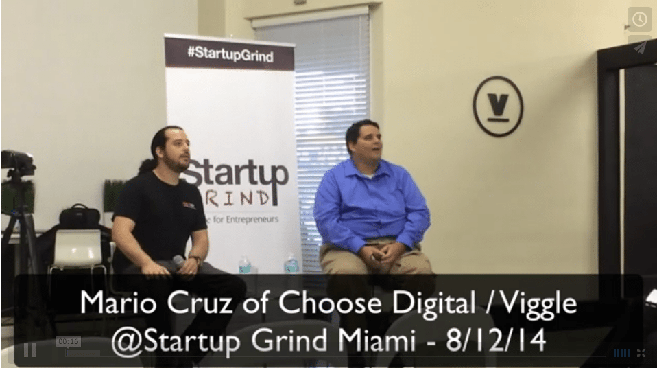 Startup Grind Video with Mario Cruz
